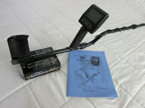 Whites XLT Spectrum Metal Detector with Rainbow Coil P/N 624-0329