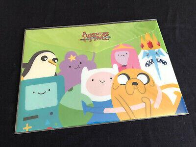 New Cartoon Network Adventure Time A4 Document Folder Envelope Licensed D15