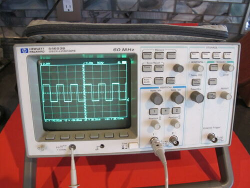 HP 54603B Oscilloscope 60 MHz Dual Channel w/GPIB - Works. Made in USA!