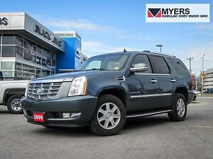 2009 Cadillac Escalade 6.2 V8, BLUE W/CASHMERE , NO ACCIDENTS!