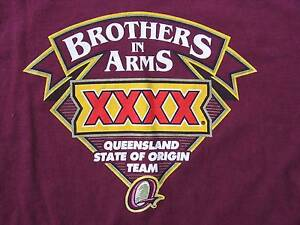 Queensland State of Origin Team Maroons Tee. Strathpine Pine Rivers Area Preview