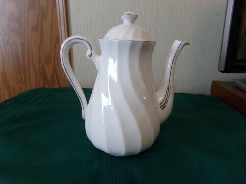 "Royal Tuscan Bone China, England ""Claridge"" Coffee/Tea Pot"