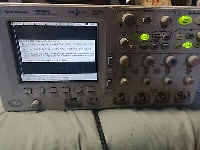 Keysight Agilent Mso6034a 300mhz 4ch Oscilloscope Fully Tested Usa Seller Great
