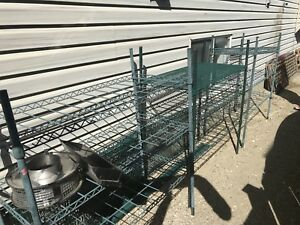 Metal Shelving located in Innisfail