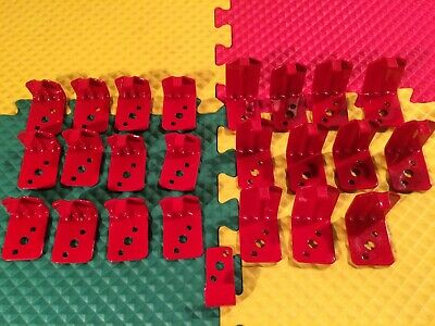 Lot Of 24 New Fire Extinguisher Wall Mount Hook Style Brackets 1-12 2 New