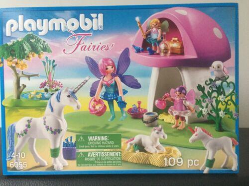 Playmobil Fairies 6055 Feenwäldchen mit Einhornpflege NEU & OVP