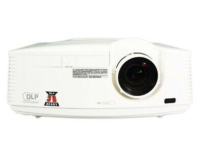 Mitsubishi WD720U DLP Projector 4300 ANSI HD 1080i HDMI 3D w/Accessories