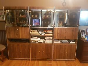 Rosewood Wall Unit   Hutches & Display Cabinets   City of Toronto ...