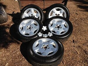 5x Ford Concorde 16x7 wheels new tyres preAU Beenleigh Logan Area Preview