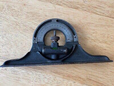 Vtg.brown Sharpe 12 Combination Square Protractor