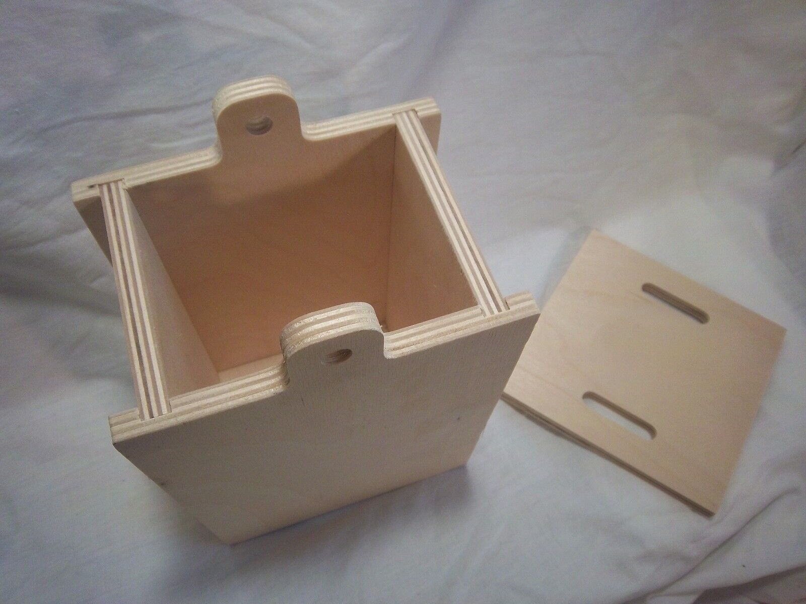 Pet Casket Natural Birch Ply Booklet Small Workbook Guide Urn - CA$19.99