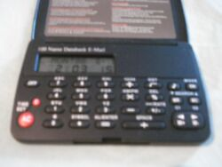 Data Bank 100 Name Telephone E-Mail Directory Orgzr. Calculator & Clock w/logo