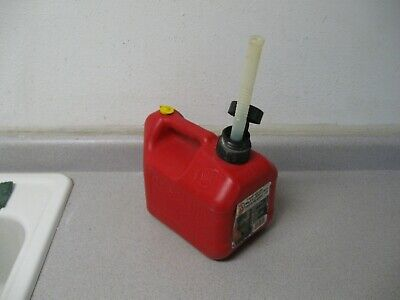 Blitz Pre Ban 1 Gallon 4 Oz Vented Gas Can Jug W Spout