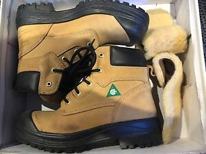 Man steel boot and Oil resistant shoes