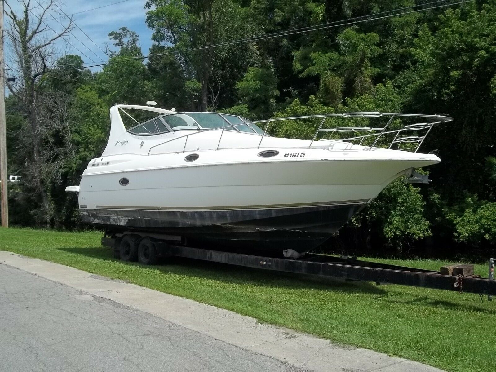 1998 CRUISERS INC 3075 PROJECT BOAT