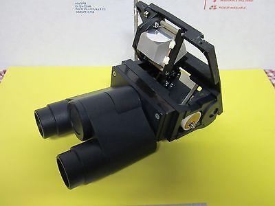 Polyvar Reichert Leica Head Assembly Microscope Optics As Is Bin56-01