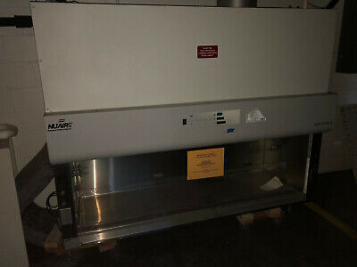 Nuaire 6 Nu-430-600 Class Ii Type B2 Bio Safety Cabinet
