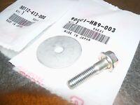 NEW Honda Honda TRX400ex 400ex 1999-2004 OEM HONDA sprocket washer retainer bolt