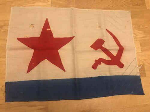 Flag  USSR Navy Original Vintage 1935-1950