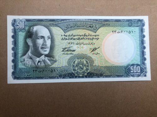 P45 Afghanistan 500 Afghani Banknote AUNC
