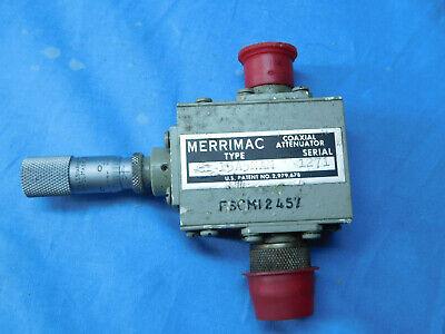 Merrimac Au-15a5nam Coaxial Attenuator