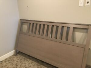 Free king size bed frame