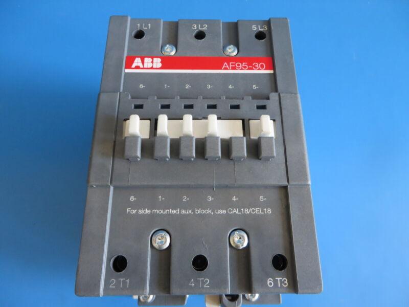 ABB AF95-30 Contactor / Motor Starter 20-60VDC Coil Max 1000V
