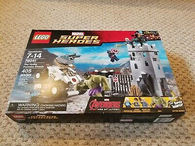 Lego Marvel Super Heroes 76041 The Hydra Fortress Smash Brand New