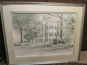 STAN-STRICKLAND-southern-milledgeville-antique-georgia-Lockerley-hall-painting