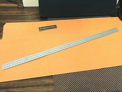 Starrett No.cb600-35 600mm Satin Chrome Blade Only For Combination Squares. Usa