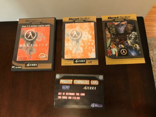 Half Life Sierra Best Seller PC CD