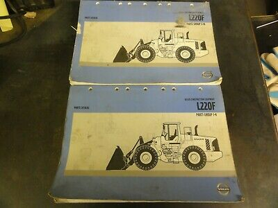 Volvo L220f Wheel Loader Parts Catalog Manual