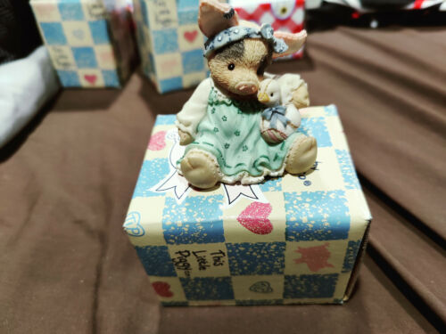 This Little Piggy DUCKY TO HAVE A FRIEND LIKE YOU Enesco Figurine w/box