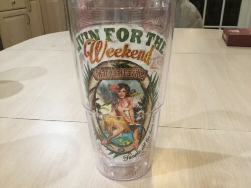 New TERVIS Jimmy Buffet Margaritaville LIVIN FOR THE WEEKEND 24 Oz big T