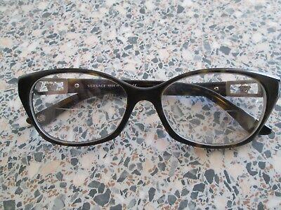 Versace brown tortoiseshell glasses frames. MOD.3170-B.