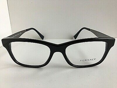 New Versace Mod. 4532  3852 Black 55mm Men's Eyeglasses Frame Italy #9