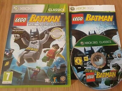 LEGO BATMAN XBOX 360 GAME. WITH MANUAL, PAL UK VERSION