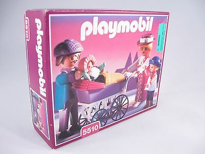 PLAYMOBIL VINTAGE 5510 VICTORIAN FAMILY CARRIAGE MANSION DOLLHOUSE-NEW IN BOX*!