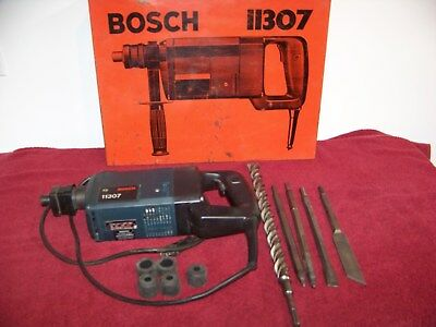 Bosch 11307 Corded Hammer Drill With Bits And Case