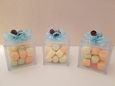 (12 Baby Shower Fillable Blocks Favors Prizes Boy African American Decorations)