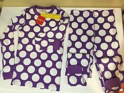 2-Piece organic Cotton Pajama kids New Sz 12 EU 150 Hanna Anderson - Best Kids Pjs