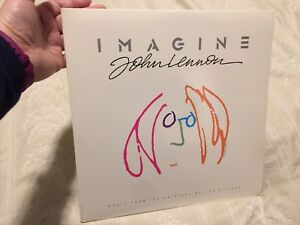 John Lennon Imagine Movie Soundtrack double vinyl record