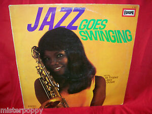 ST-TROPEZ-JAZ-OCTETT-Jazz-goes-Swinging-LPGERMANY-1970s-EX