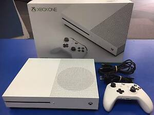XBOX ONE S   !!!! ...As New only just released 500Gb White AS NEW Adamstown Newcastle Area Preview