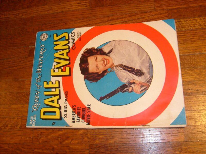 DALE EVANS COMICS #12, 1950 DELL COMIC...roy rogers