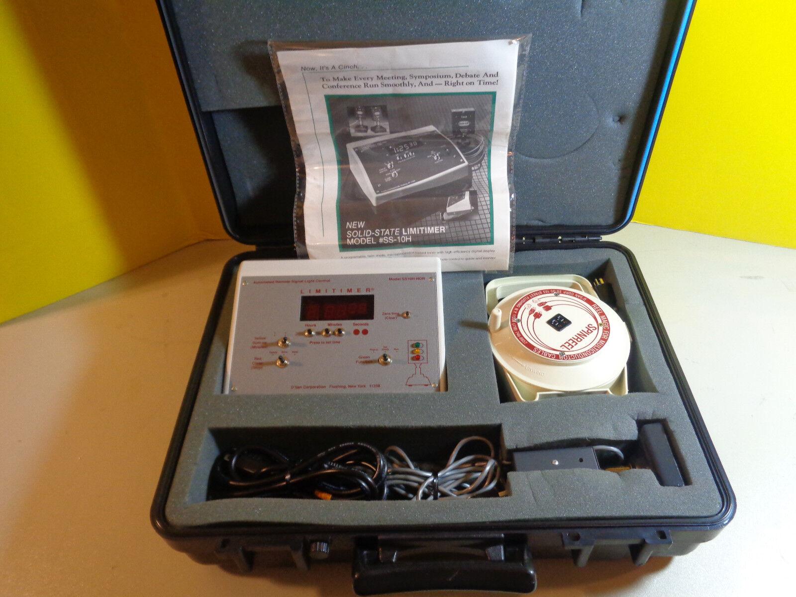 D'San Solid State Limitimer SS-10H Public Speaker Time