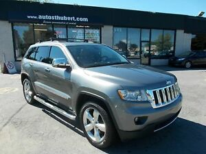 JEEP GRAND CHEROKEE LIMITED OVERLAND 5.7L 4X4 2012 **CUIR+TOIT+N