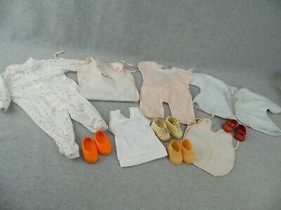 Vintage baby doll clothing clothes & shoes for TinyTears or plastic vinyl Doll