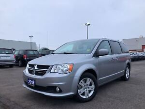 2018 Dodge Grand Caravan CREW**LEATHER**NAV**BACK UP CAMERA**BLU