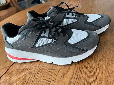 Under Armour Black and Grey Mens Sneaker Tennis Shoes Size 14